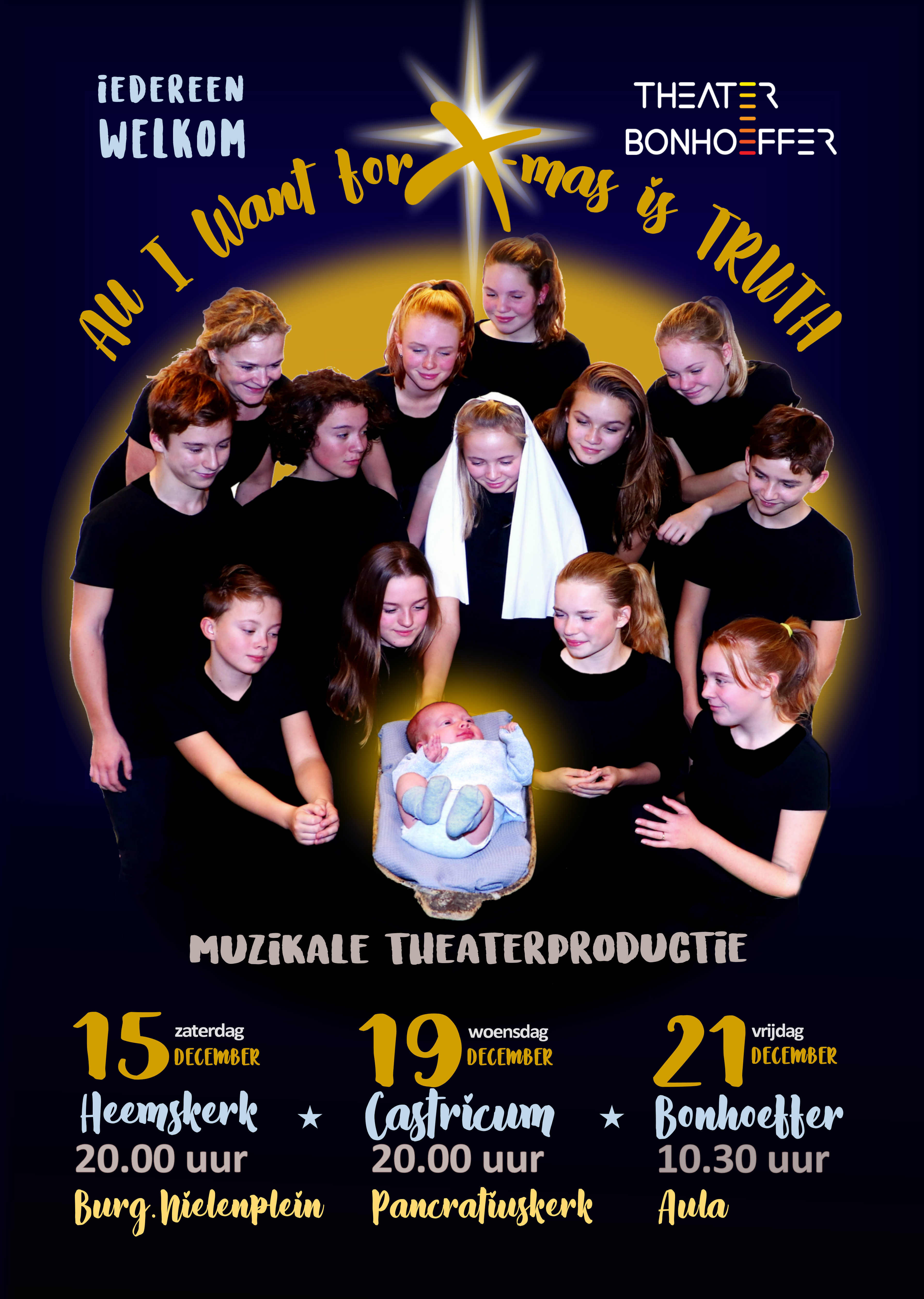 All I Want for X-mas is TRUTH (2018) – Theater Bonhoeffer