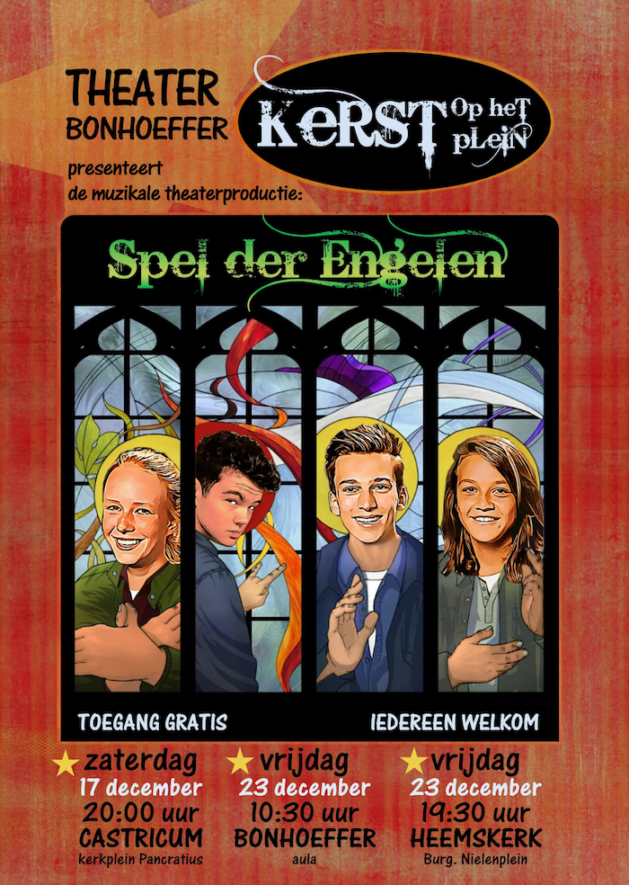 Spel der Engelen (2016) – Theater Bonhoeffer